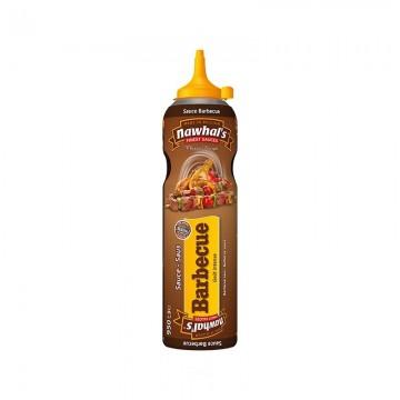 Tube plastique de sauce barbecue nawhal's 950 ml