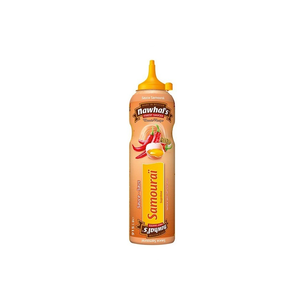 Tube plastique de sauce samourai nawhal's 950 ml