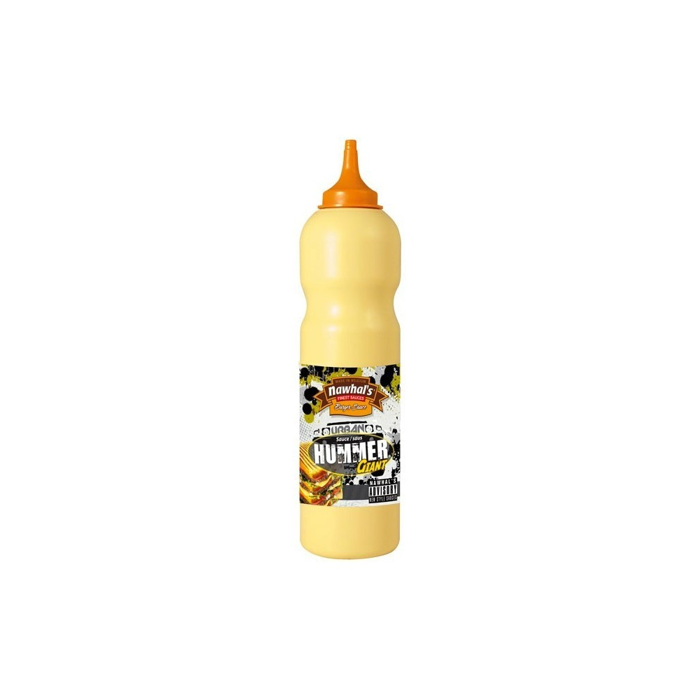 Tube plastique de sauce hummer giant nawhal's 950 ml