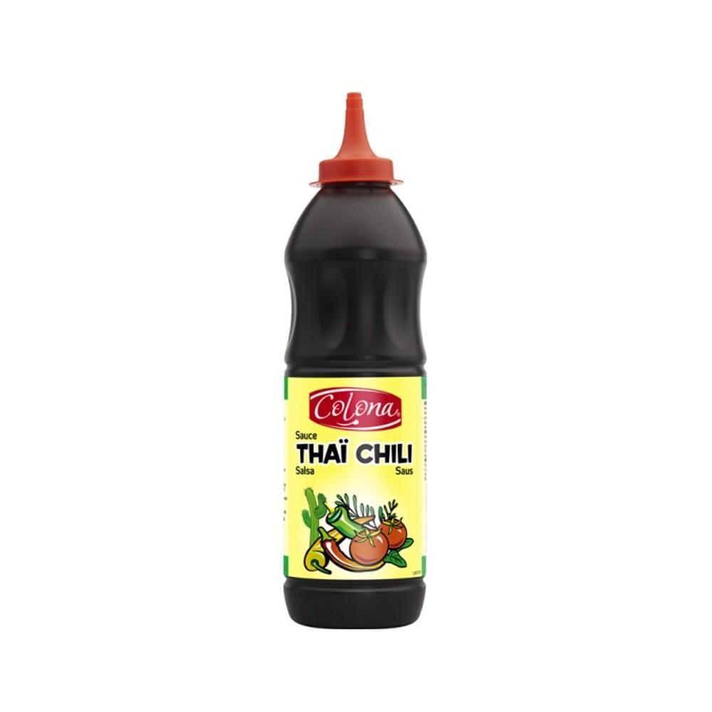 Tube plastique de sauce thai chili colona 900 G