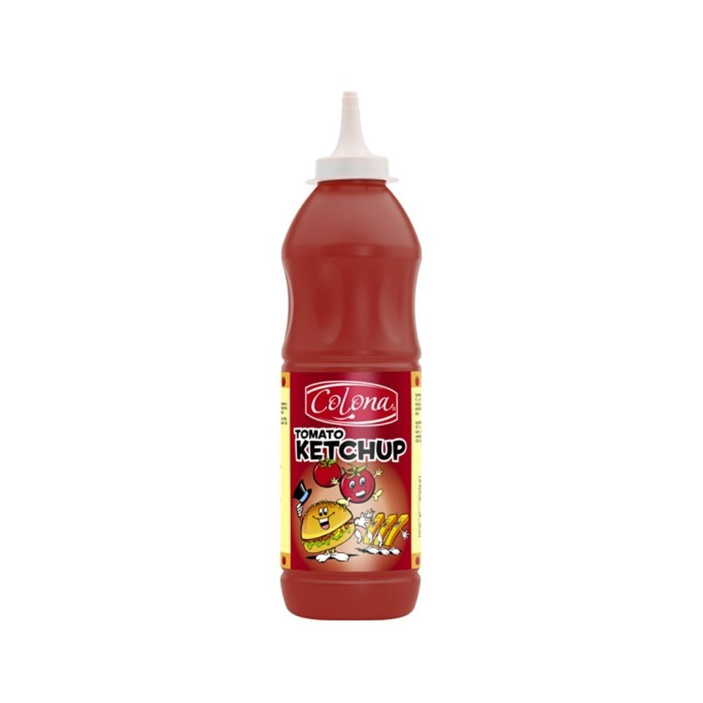 Tube plastique de ketchup  colona  1 kg