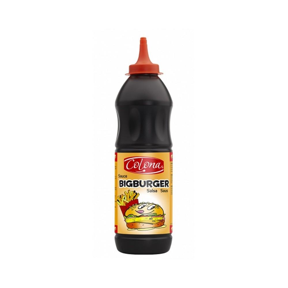 Tube plastique de sauce bigburger colona  850 G