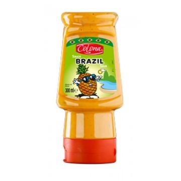 Tube plastique de sauce brazil colona 300 ml