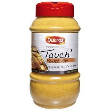 boite plastique d'épices Ducros Poulet rôti Touch'  650 G