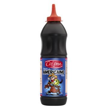 Tube plastique de sauce américaine colona  900 G