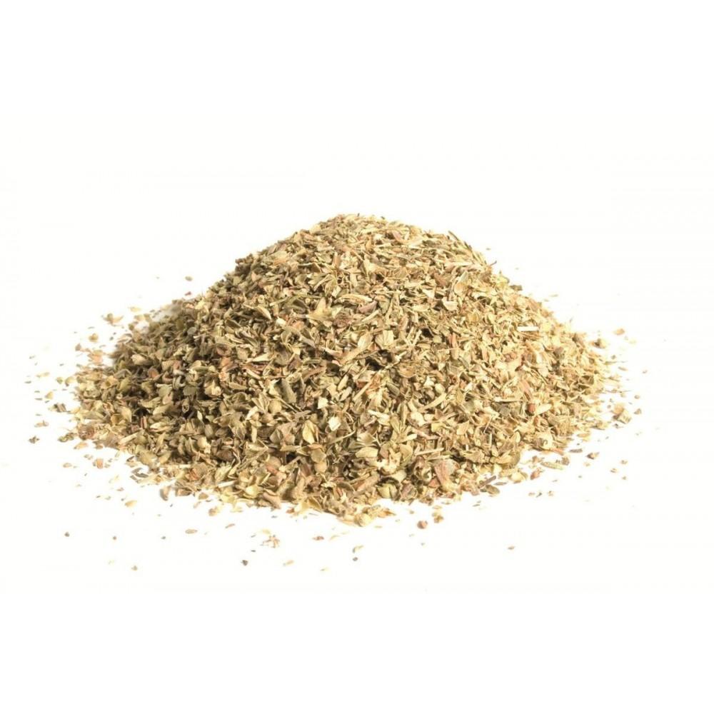 boite plastique  3 clapets de feuilles d'origan 60 g