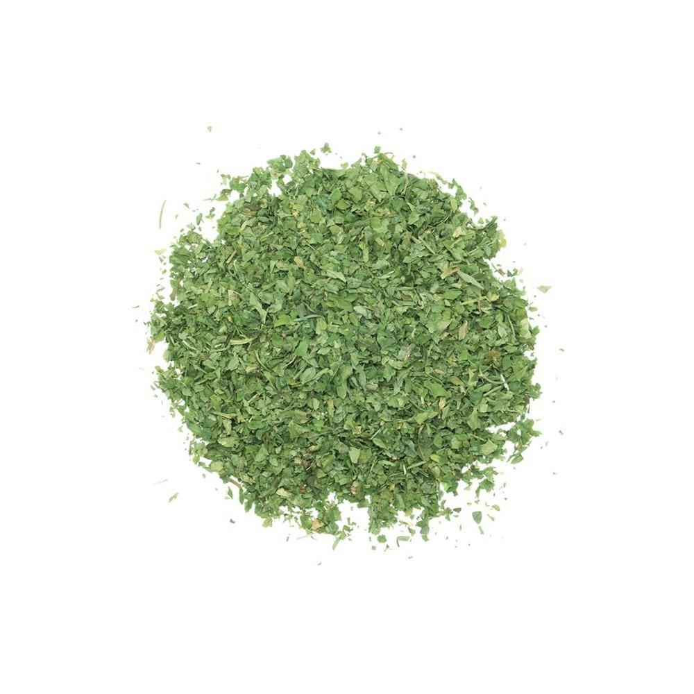 boite plastique  3 clapets de feuilles de persil 55g