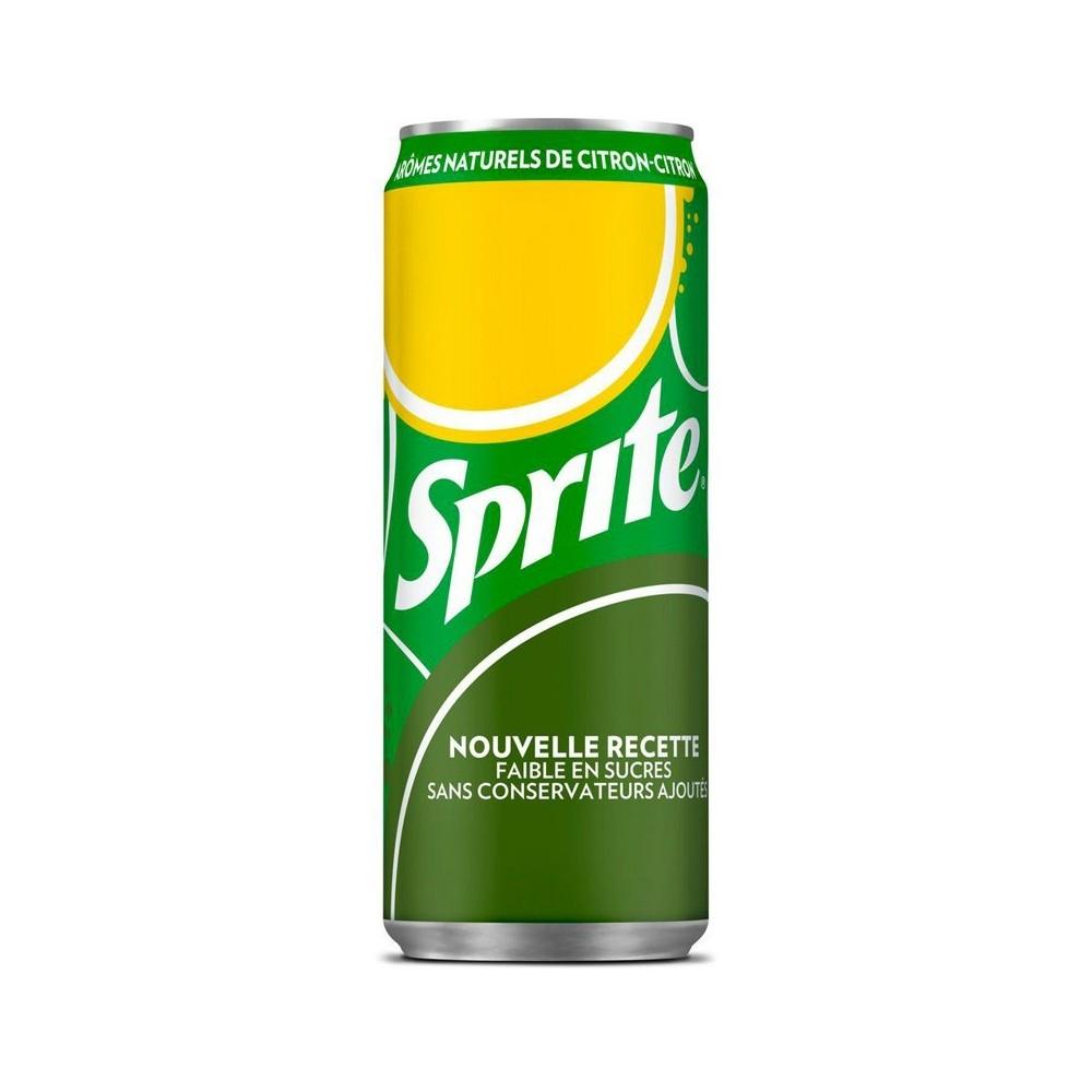 Sprite citron-citron vert 33 cl