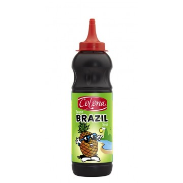 Tube plastique de sauce brazil colona 500 ml