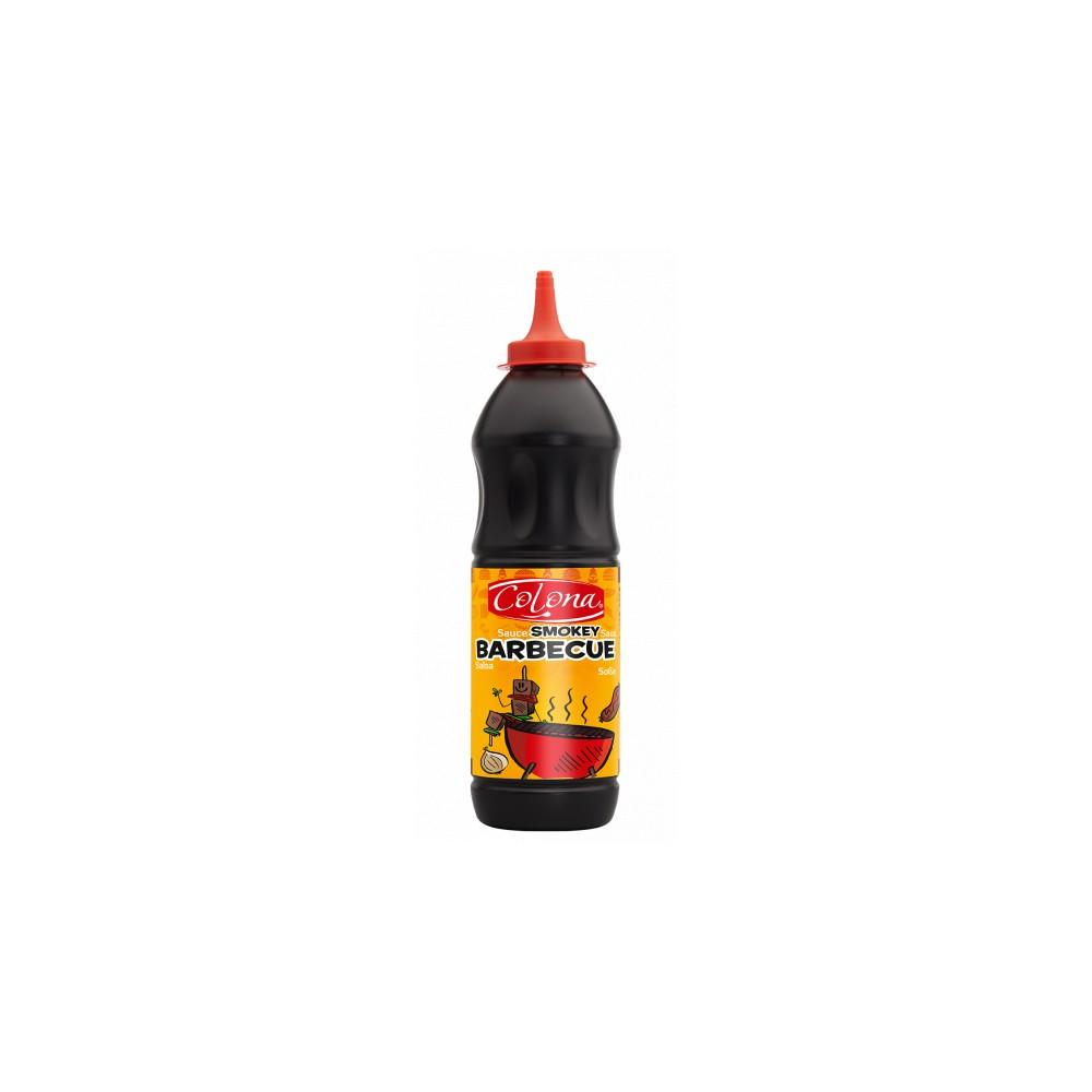 Tube plastique de sauce SWEET BARBECUE  colona  900 ml