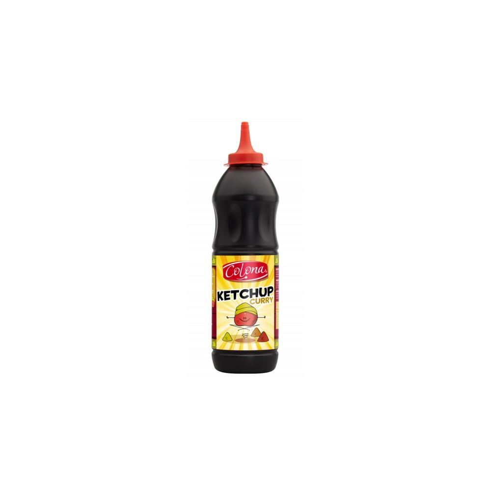 Tube plastique de sauce ketchup curry colona  1080 G