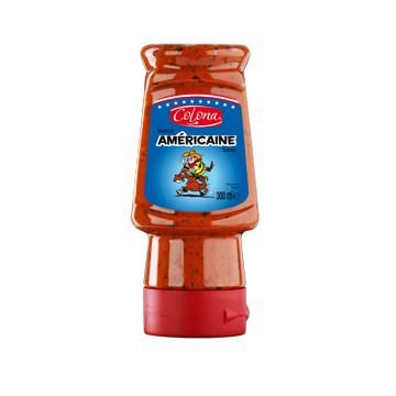 Tube plastique de sauce Américaine colona 300 ml