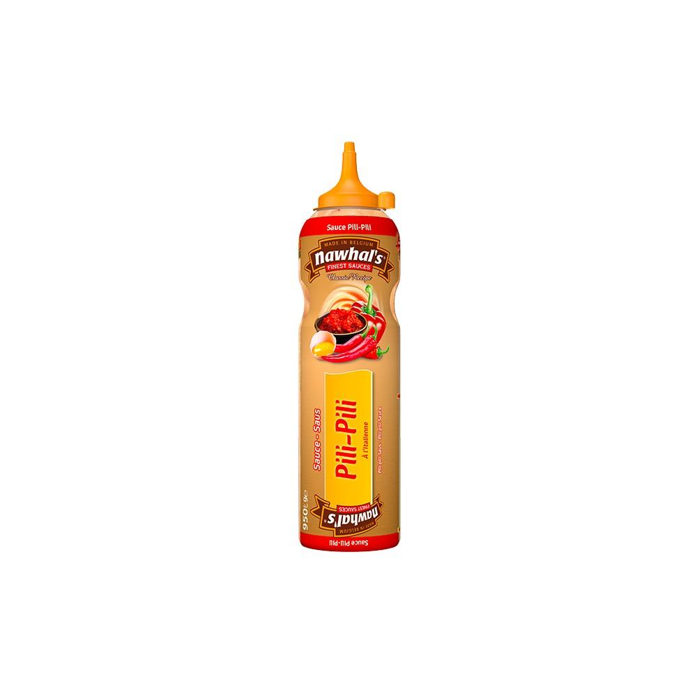 Tube plastique de sauce pili pili nawhal's 950 ml