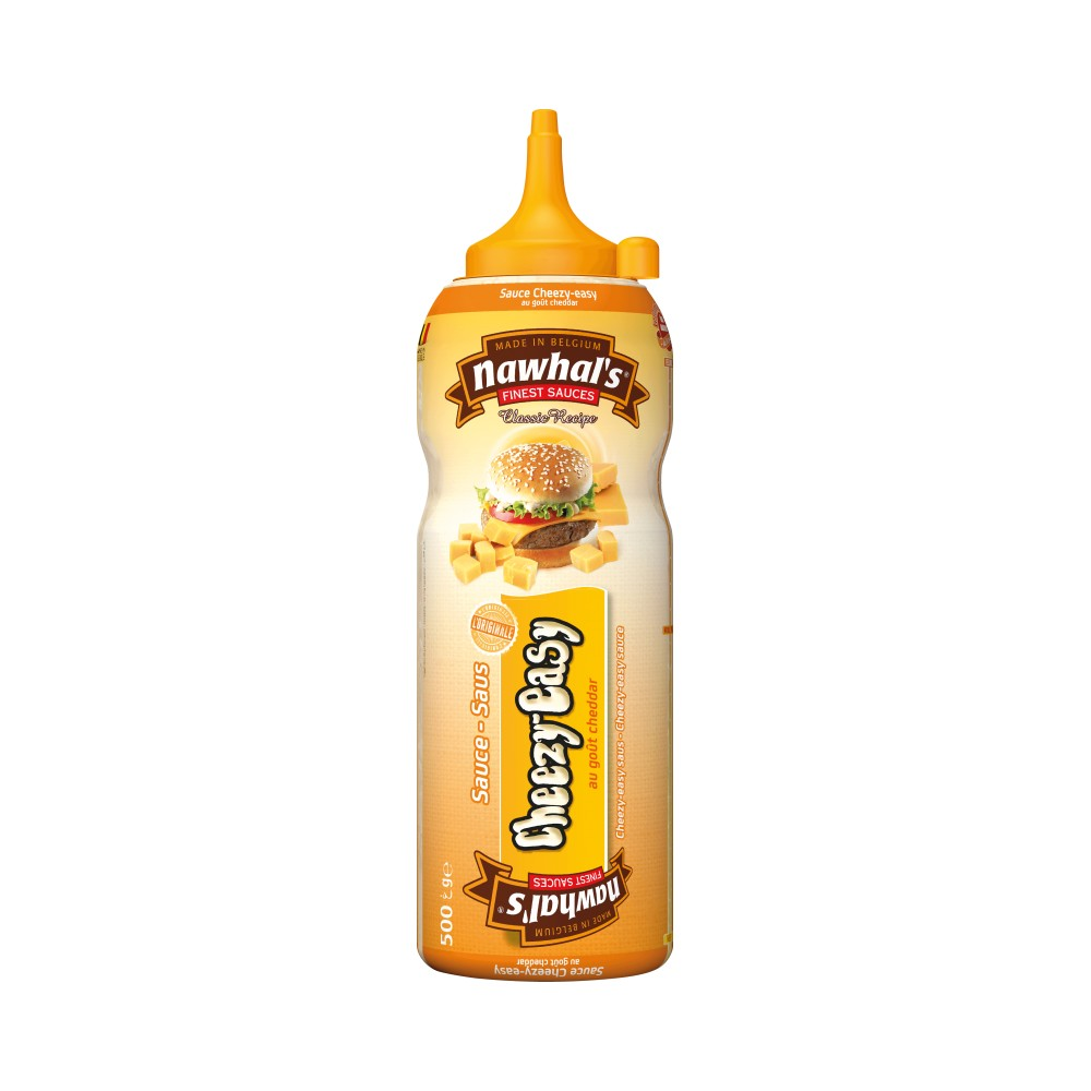 Tube plastique de sauce cheezy easy nawhal's 500 ml