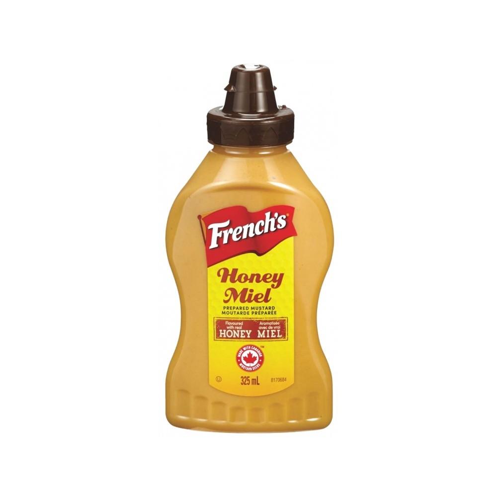 tube plastique de moutarde au miel 340 g