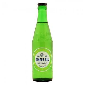 bouteille en verre de soda boylan ginger ale ( soda au gingembre ) 355 ml