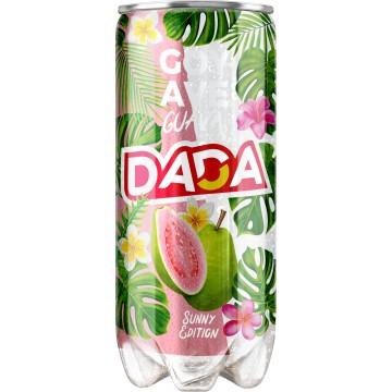 Canette plastique de boisson gazeuse  DADA  goyave 30 cl