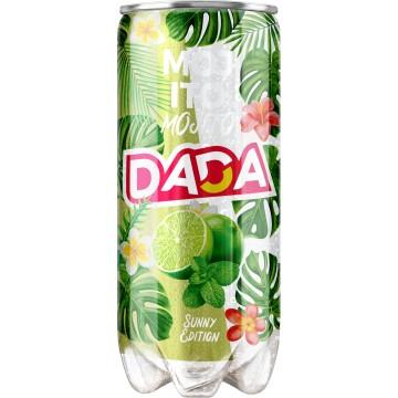 Canette plastique de boisson gazeuse DADA MOJITO 30 cl