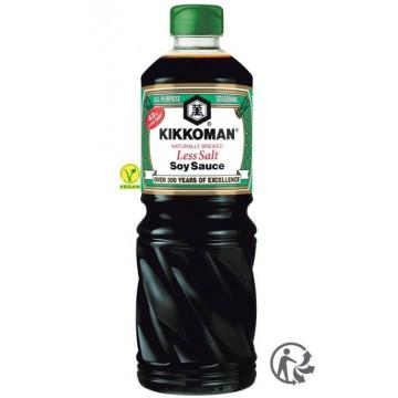 SAUCE SOJA ALLÉGÉE EN SEL KIKKOMAN bouteille 1 L