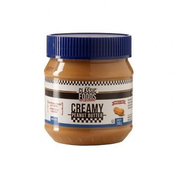 Creamy peanut butter 340 g - beurre de cacahuète crémeux classic foods