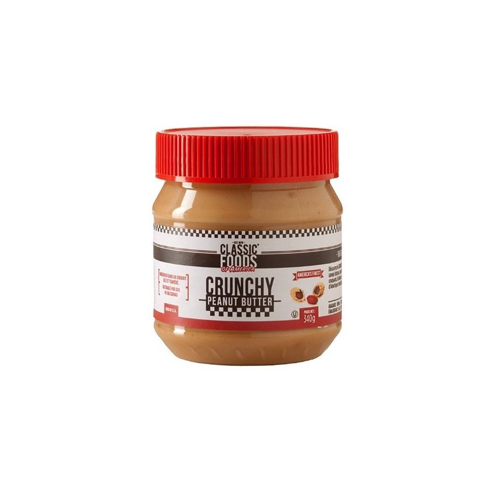 Crunchy peanut butter 340 g - beurre de cacahuète croquant