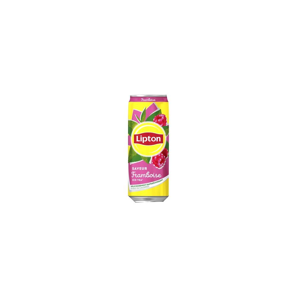 lipton ice tea pêche framboise 33 cl slim