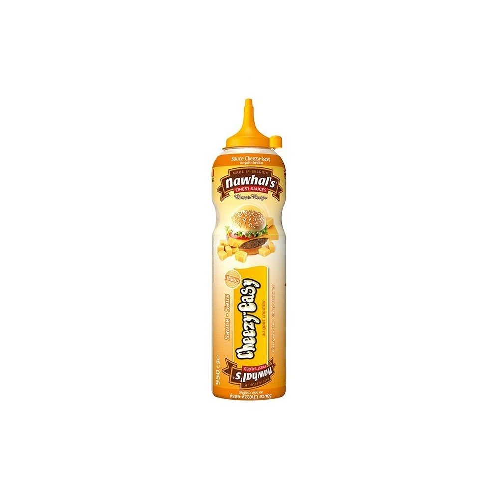 Tube plastique de sauce cheezy easy nawhal's 950 ml