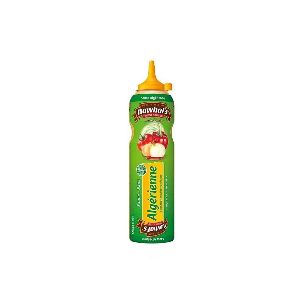 Tube plastique de sauce algérienne nawhal's 950 ml